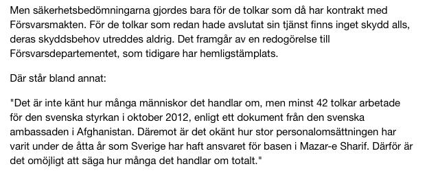 Källa: SR Ekot.